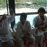 Cerimônia de Graduação – Troca de Faixa dos Karatecas da Academia Bushido de Karate.