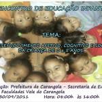 1º Encontro de Educação Infantil.