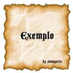 Seguir o exemplo.