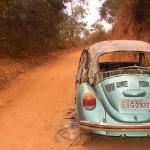 Veículo é encontrado queimado na Estrada dos Ferreiras - Divino