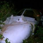 Avião do cantor Eduardo Costa se acidenta ao aterrissar.