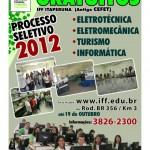 Processo Seletivo 2012 - IFF Itaperuna