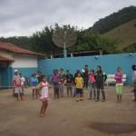Dia feliz para centenas de crianças, com a colaboração e trabalho do JCC de Carangola