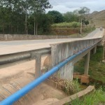 Água de qualidade para abastecer os bairros, Campestre e Vila Rica. Rede de adução está na reta final.