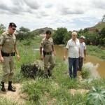 Crânio é achado no Rio Muriaé