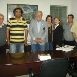 Governador do Rotary Club Visita Manhumirim