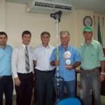 Produtores premiados no 1° Concurso Municipal de Qualidade do Café de Divino.