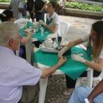 JCC e Unimed Vale do Carangola na campanha de combate ao Diabetes.