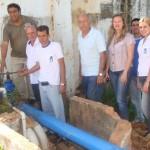 Manhumirim - Campestre e Vila Rica já estão recebendo água tratada.
