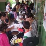 JCC de Carangola participou da 1ª Feira da Saúde realizada na Escola Municipal Lelena de Oliveira