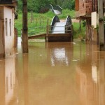 Chuva Provoca estragos em Manhumirim