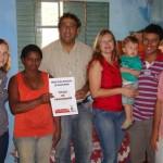 Manhumirim - Projeto de Regularização Fundiária, 15 moradores do Campestre começam 2012 com escrituras de seus terrenos.