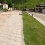 Prefeitura de Manhumirim segue calçando ruas.