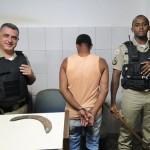 CARANGOLA - homem é preso por agredir e ameaçar a esposa.