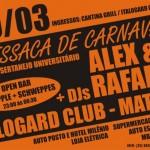 Festa RESSACA DE CARNAVAL 10/03 Italogard Club - Matipó