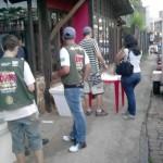 75ª Cia Esp PM – Conselho Tutelar – JCC, realizaram no carnaval uma campanha de prevenção e combate a venda ilícita de bebidas alcoólicas e cigarros para menores.