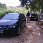 Assalto ao Sicoob: bandidos levaram 290 mil reais.