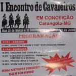1º Encontro de Cavaleiros em Conceição - Carangola-MG