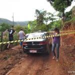 Carangola - taxista é encontrado morto  na Vertente do Córrego da Mata.