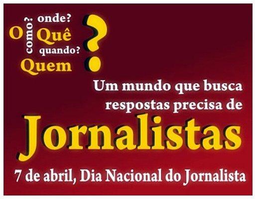 7 De Abril U201cDia Do Jornalista U201d Parab U00e9ns Aos Colegas De