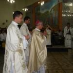 Realizada em Caratinga a missa da unidade.
