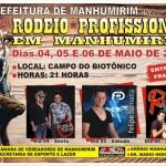 Rodeio Profissional em Manhumirim.