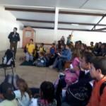 Policiais de Carangola e Pedra Dourada realizaram palestra sobre violência sexual