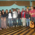 13º Festival de Inverno de Manhumirim. Realizada a 1ª eliminatória do Circuito da Canção.