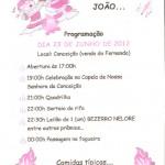 São João Festa Junina em Conceição - Carangola - MG.