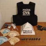 Mega operação em Fervedouro mobiliza 140 policiais.
