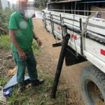Acidente na estrada entre Muriaé e Vermelho deixa um ferido