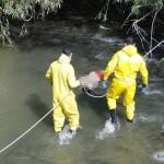 Corpo é encontrado no Rio Muriaé, na Prainha