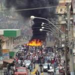 Santa Margarida - Campanha tem confronto com tiros e fogo.