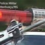 Veículo furtado em Santo Amaro de Minas.