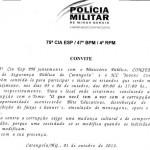 Campanha contra a Corrupção - Convite.