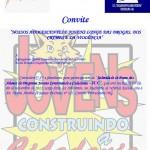 Convite para Solenidade de Posse do JCC de Fervedouro-MG.