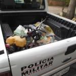 PMMG apreende autor de furto no Parque de Exposição e no Sindicato Rural.