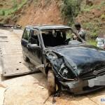 Vereador de Tombos e mais três pessoas morrem após carro cair em corrego.