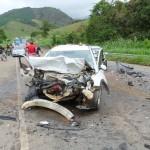 Seis feridos em acidente na Ponte do Evaristo.
