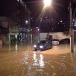 Chuva causa transtornos em Manhuaçu e Matipó.