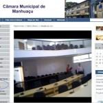 Sessão ao vivo da Câmara de Manhuaçu - 21 de março.