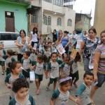 Manhuaçu - Crianças do Bairro Santa Luzia contra a Dengue.