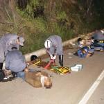 Muriaé - Jovem morre em colisão entre duas motos na BR-356