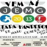 JEMG/2013 - Microrregional da SRE- Carangola terá inicio em 06 de Maio em Caparaó.