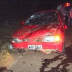 Mulher de 22 anos morre em acidente na zona rural de Espera Feliz.