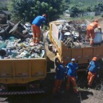 Manhuaçu - Samal realiza limpeza na Comunidade Santa Clara.