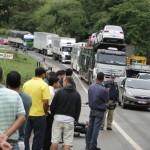 Retireiro de Vieiras morre em acidente na BR-116.