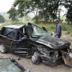 Acidente com dois veículos na BR-116 deixa 7 feridos.