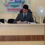 Manhuaçu-Câmara debate situação do Esporte e Trânsito de Veículos Pesados no centro.