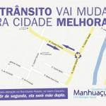 Prefeitura de Manhuaçu inicia mudanças no trânsito.